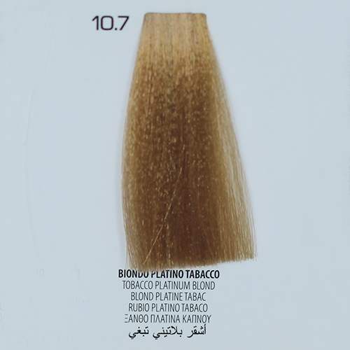 tinta per capelli 10.7 Biondo Platino Tabacco
