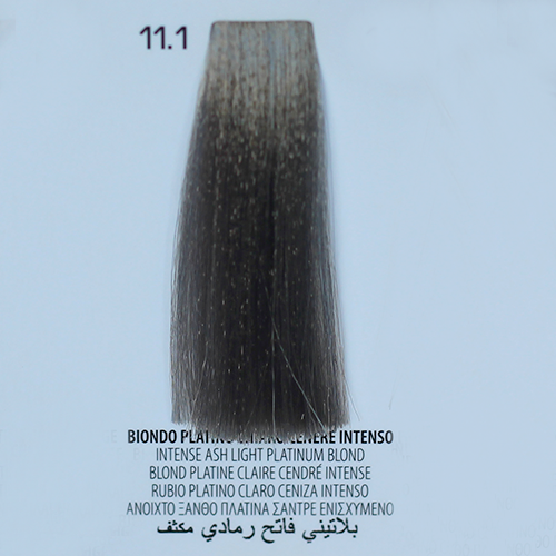 tinta per capelli 11.1 Biondo Platino Chiaro Cenere Intenso