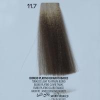 tinta per capelli 11.7 Biondo Platino Chiaro Tabacco