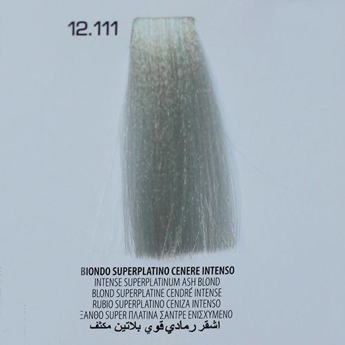 tinta per capelli 12.111 Biondo Superplatino Cenere Intenso
