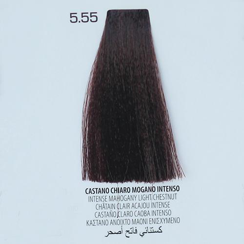 tinta per capelli 5.55 Castano Chiaro Mogano Intenso