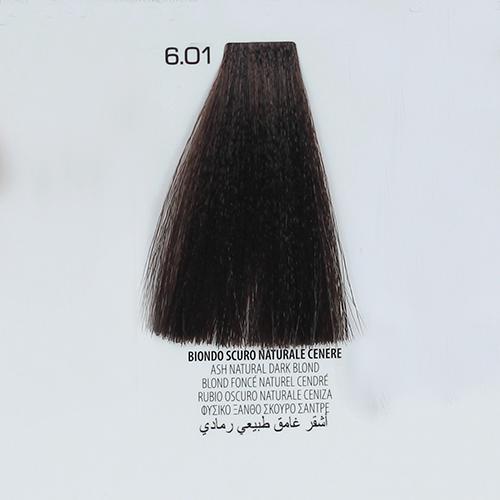 tinta per capelli 6.01 Biondo Scuro Naturale Cenere