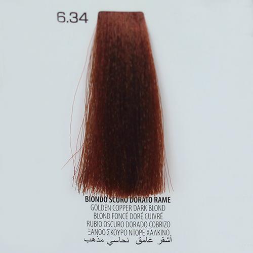 tinta per capelli 6.34 Biondo Scuro Dorato Rame