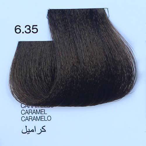 tinta naturale per capelli 6.35 Caramello