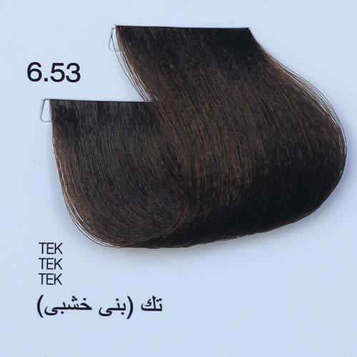 tinta naturale per capelli 6.53 Tek