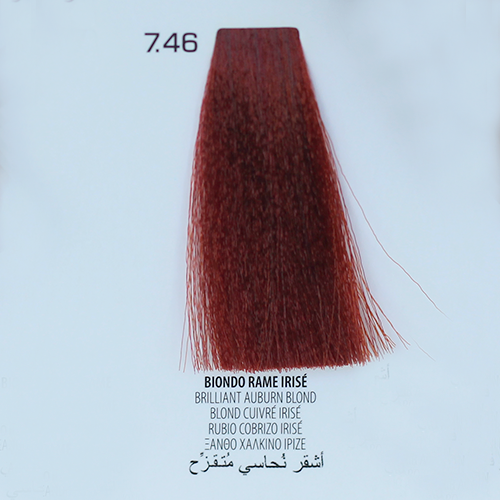 tinta per capelli 7.46 Biondo Rame Irisé