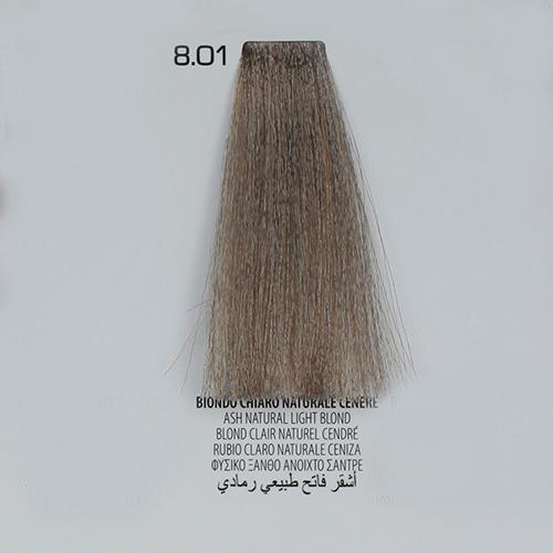 tinta per capelli 8.01 Biondo Chiaro Naturale Cenere