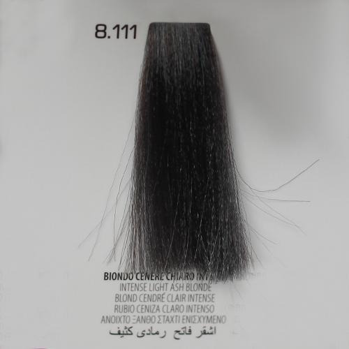 tinta per capelli 8.111 Biondo Cenere Chiaro Intenso