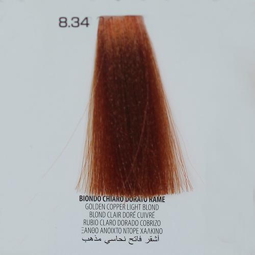 tinta per capelli 8.34 Biondo Chiaro Dorato Rame