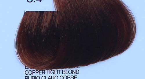 tinta naturale per capelli 8.4 Biondo Chiaro Rame