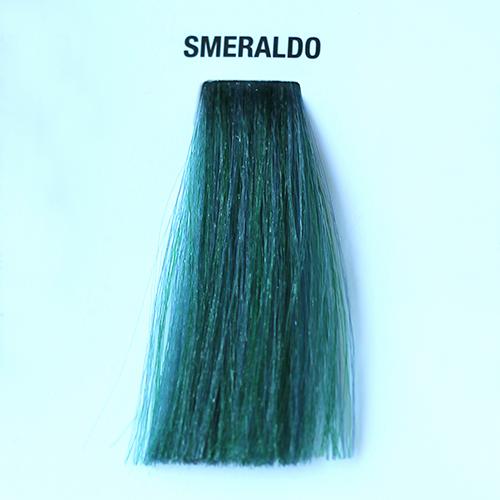 tinta per capelli smeraldo